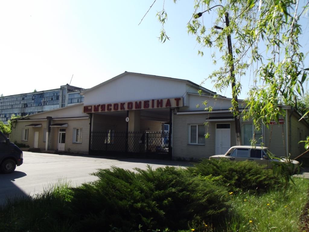 Майновий комплекс Новоград-Волинського м'ясокомбінату        (будівлі та споруди,основні засоби у кількості 925 інвентарні позиції,автотранспортні засоби у кількості 31 одиниці )