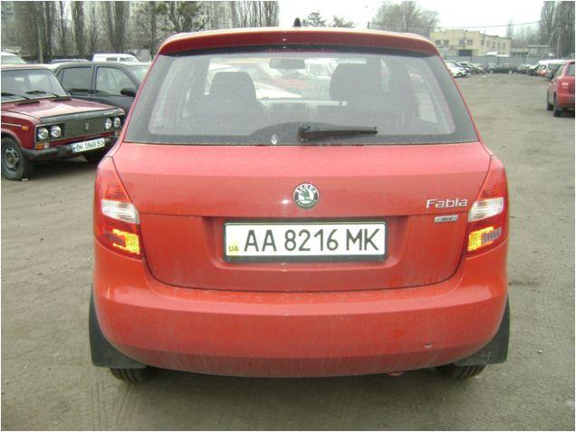 Транспортний засіб Skoda Fabia 1,4  2012р., інв..№ 41220045; Сис-ма GPS моніторінг (модель MVT380), інв..№ 50232468945;  автокомплект-сумка