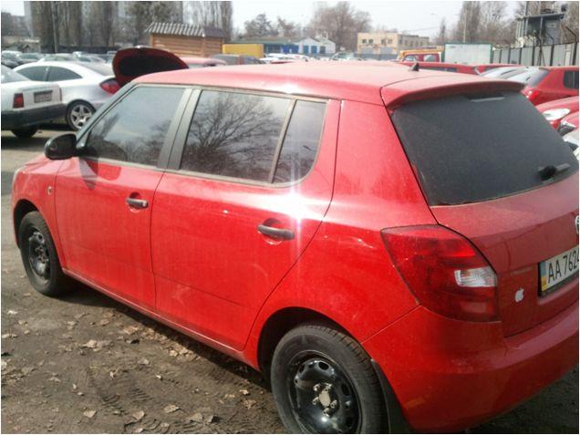 Транспортні засоби  Skoda Fabia 1,4 2012р., інв..№ 41220035; Сис-ма GPS моніторінг (модель MVT380), інв..№ 50232468912;  автокомплект-сумка