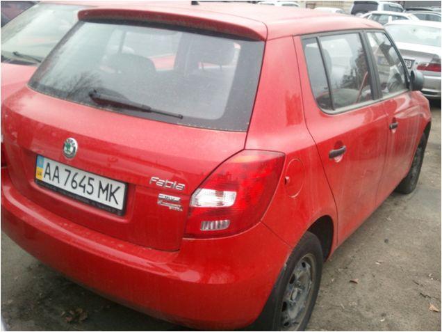 Транспортний засіб  Skoda Fabia 1,4  2012р., інв..№ 41220031; Сис-ма GPS моніторінг (модель MVT380), інв..№ 50232468924;  автокомплект-сумка